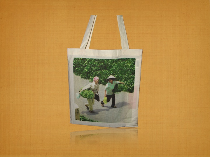 Recycled Organic Cotton Promotional Event Bag