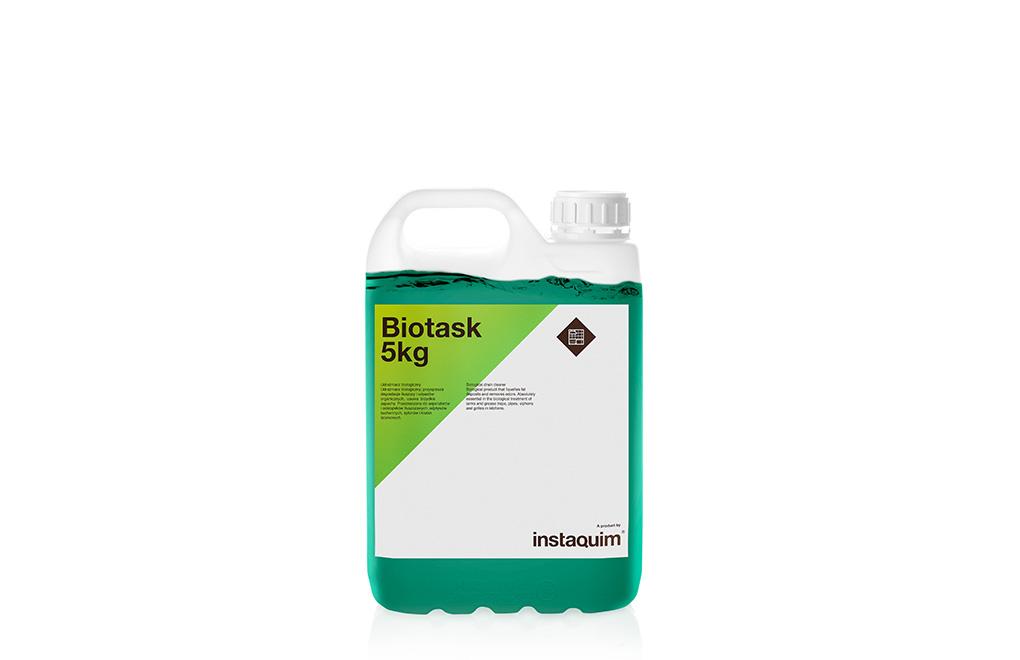 Biotask, limpiatuberías biológico.