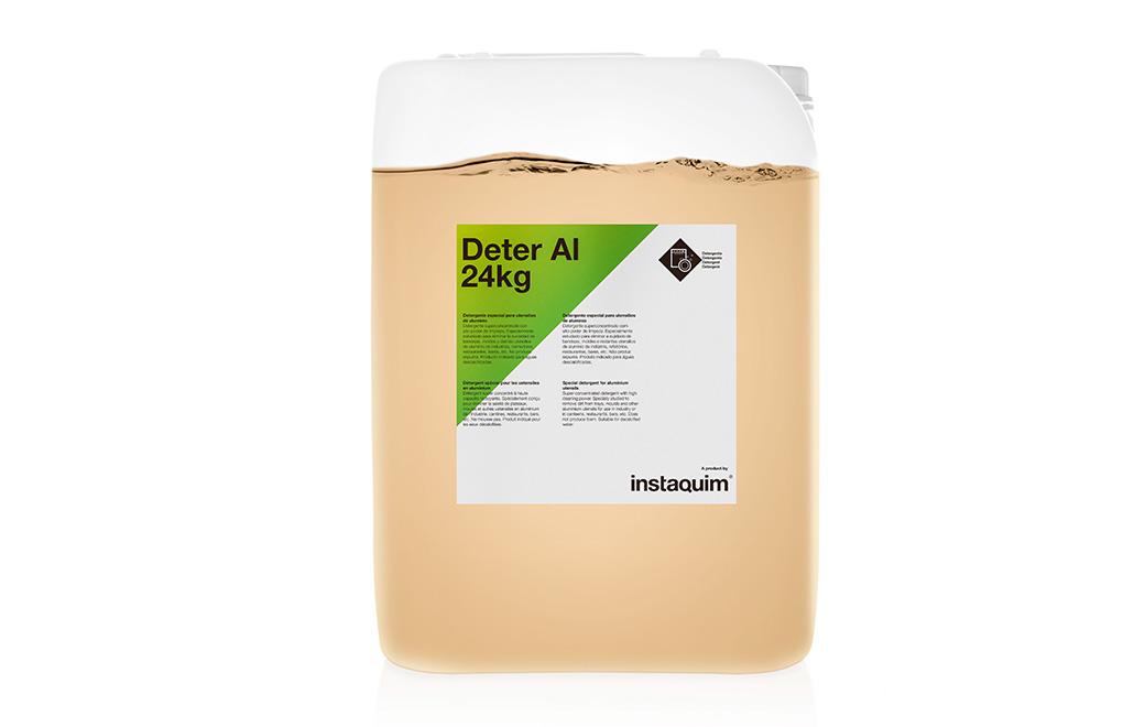 Deter Al, detergente especial para utensilios de aluminio.