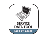 SERVICE DATA TOOL FOR IC ACTUATORS