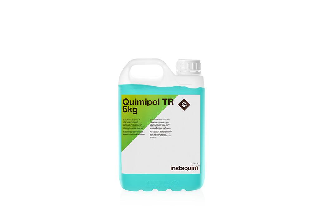 Quimipol TR, desengrasante para la industria.