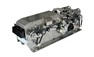 Validadora de tickets con letura grabación de banda magnética e impresión térmica