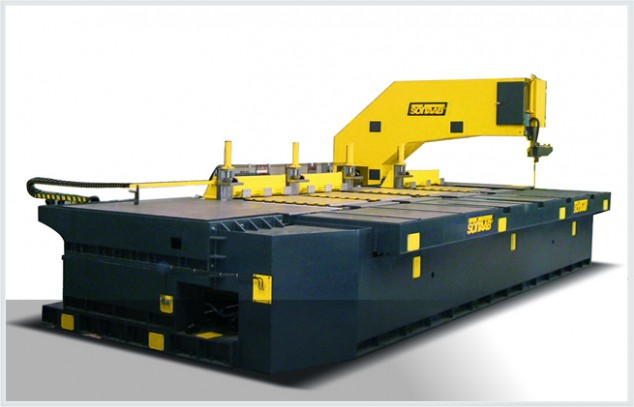 Soitaab SVC longitudinal and cross-cutting band saw