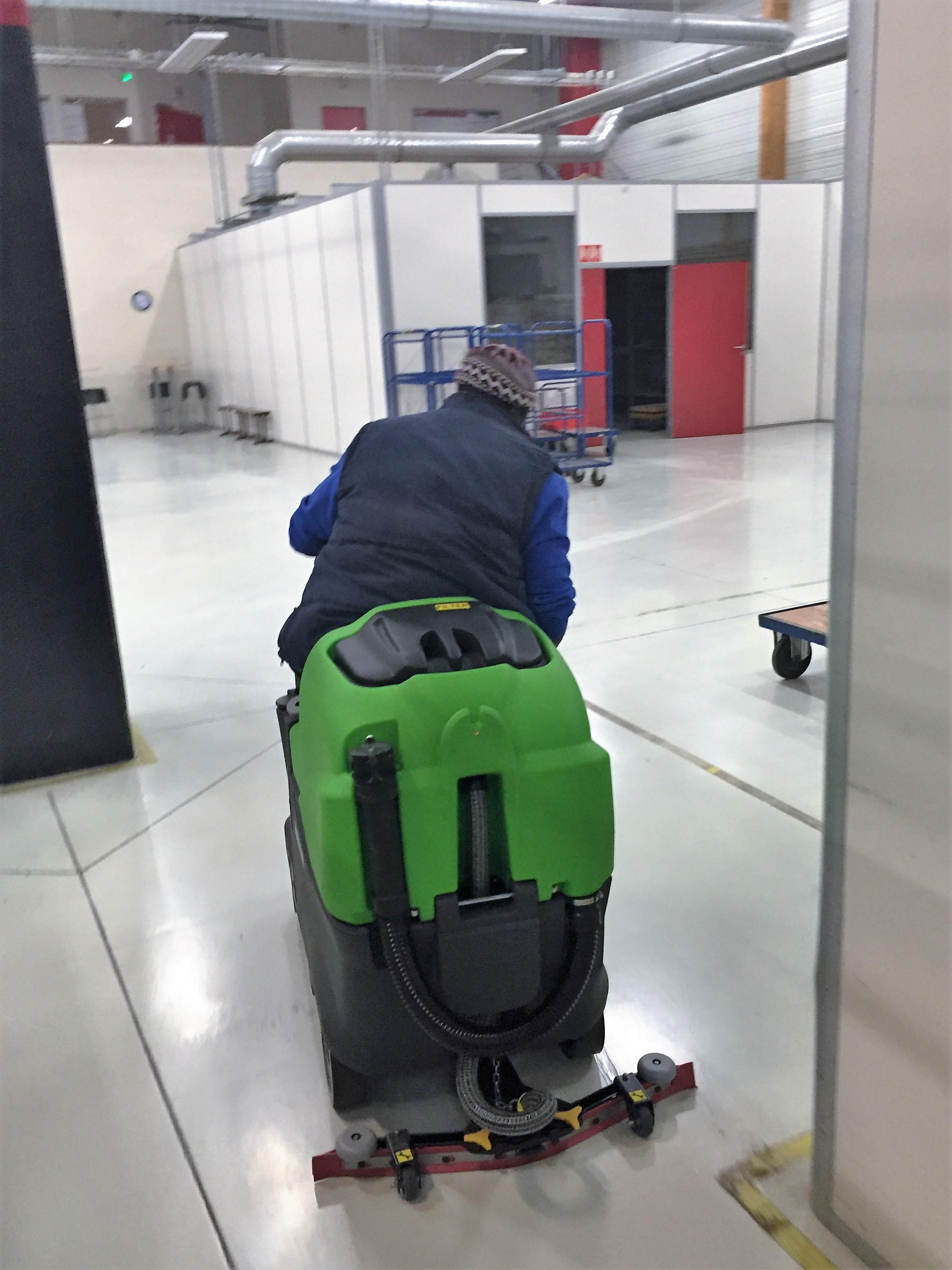 Nettoyage entrepôt et atelier