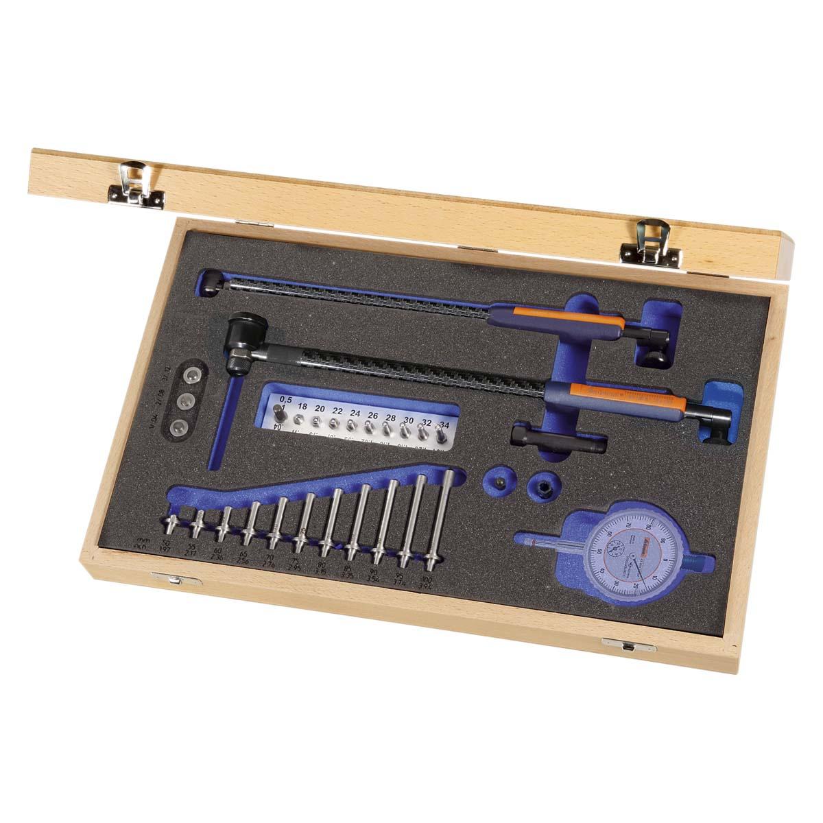 Juego de verificadores de interiores de precisión 18-150 mm GARANT