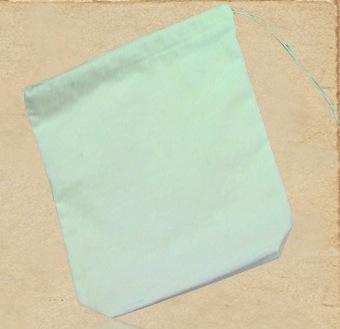 Cotton Fleeced Cosmetic Bag