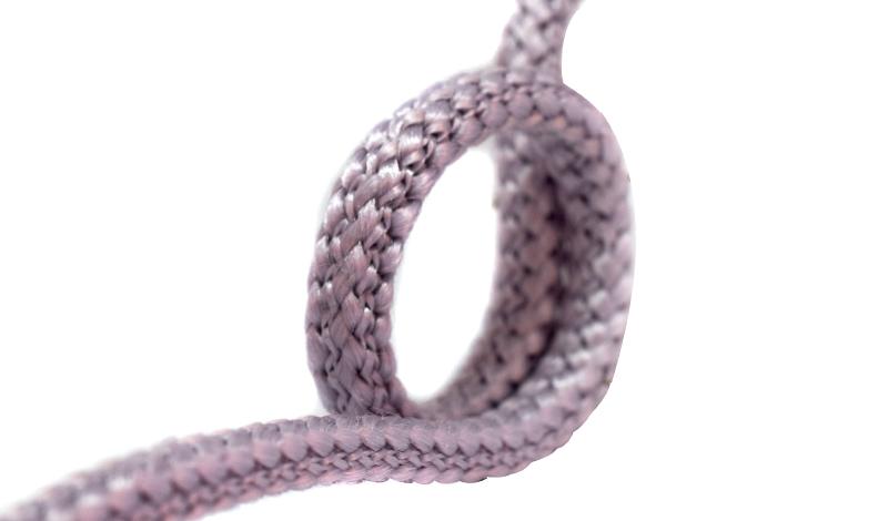 Cordones trenzados redondos