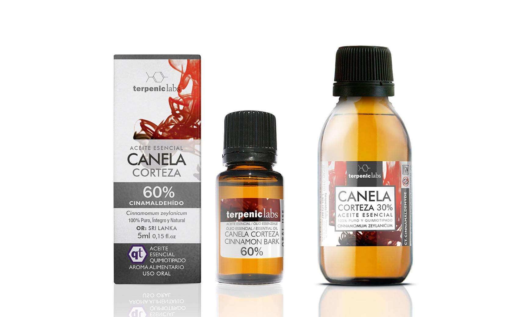 Canela Corteza 60% - Aceite Esencial