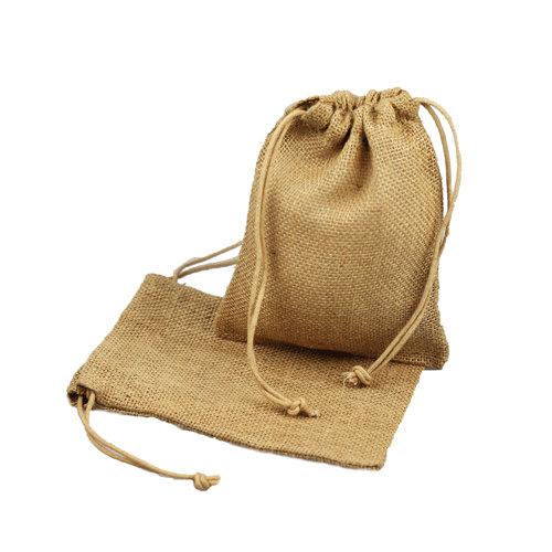 Jute Juco Drawstring Bags