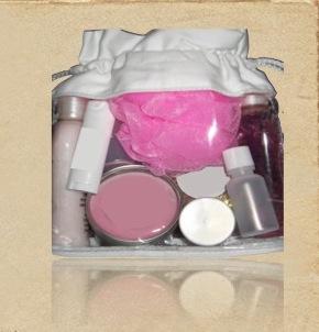 Organic Canvas Cosmetic Bag-Eco Friendly Window