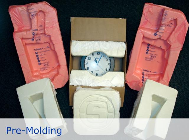 Embalaje de ESPUMA instantáneo 100% seguro -FOAMplus