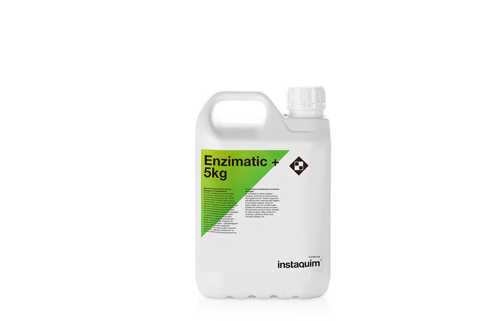Enzimatic+, detergente enzimático concentrado multiusos.