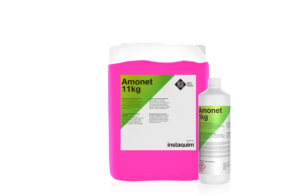 Amonet, limpiador amoniacal concentrado.