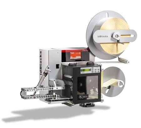 Impresoras aplicadoras para altas producciones:idBlocks 4030/6030 plus frontal