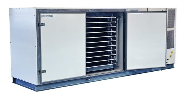 DSI - Plate freezer with compressor