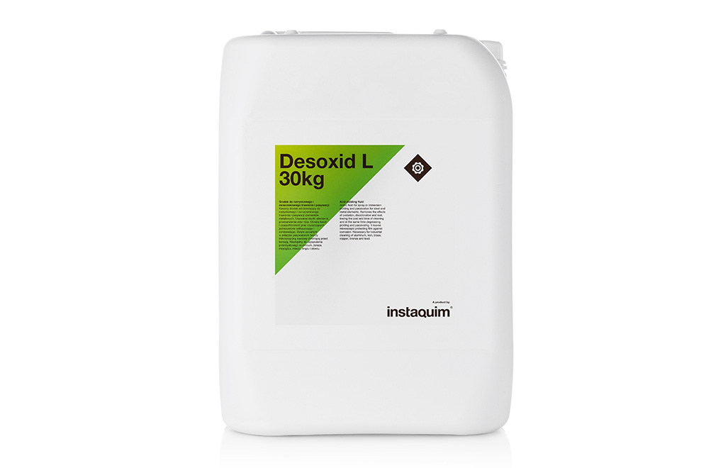 Desoxid L, ácido desoxidante pasivante.