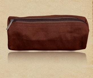 Recycled Organic Cotton Cosmetic Pouch