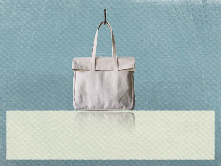 Recycled Organic Canvas Handbags
