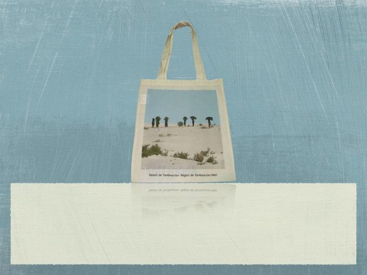 Organic Cotton Shoulder Tote Bag