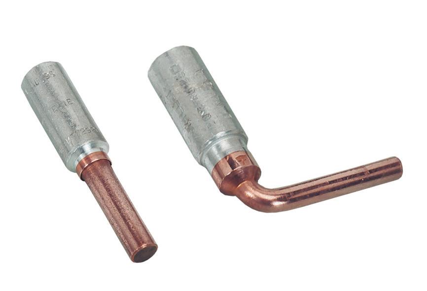 Connecteurs bimetalliques
