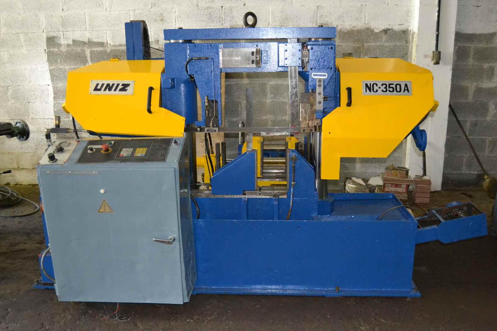 Sierra de cinta automatica UNIZ NC350A