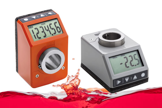 DD52R-E Direct Drive IP65/7 Electronic Position Indicator