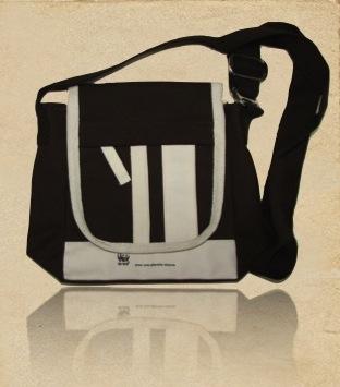 Organic Canvas Cross Body Bag