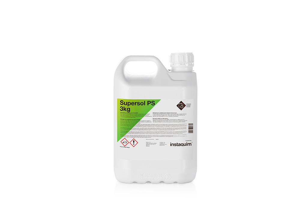 Supersol PS, detergente en pastillas para lavavajillas.