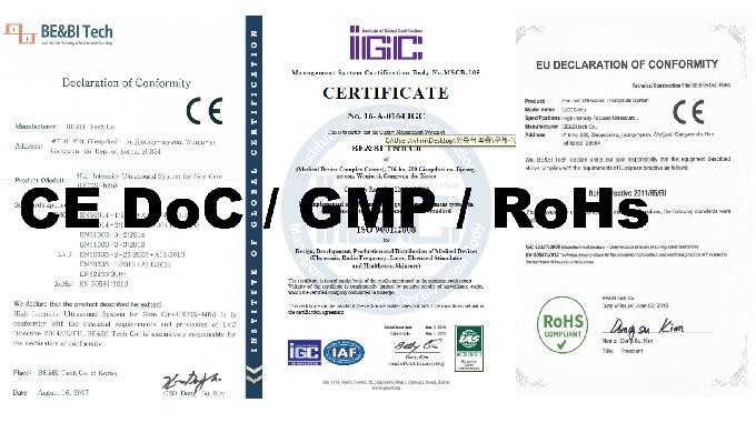 CE DoC / GMP / RoHs