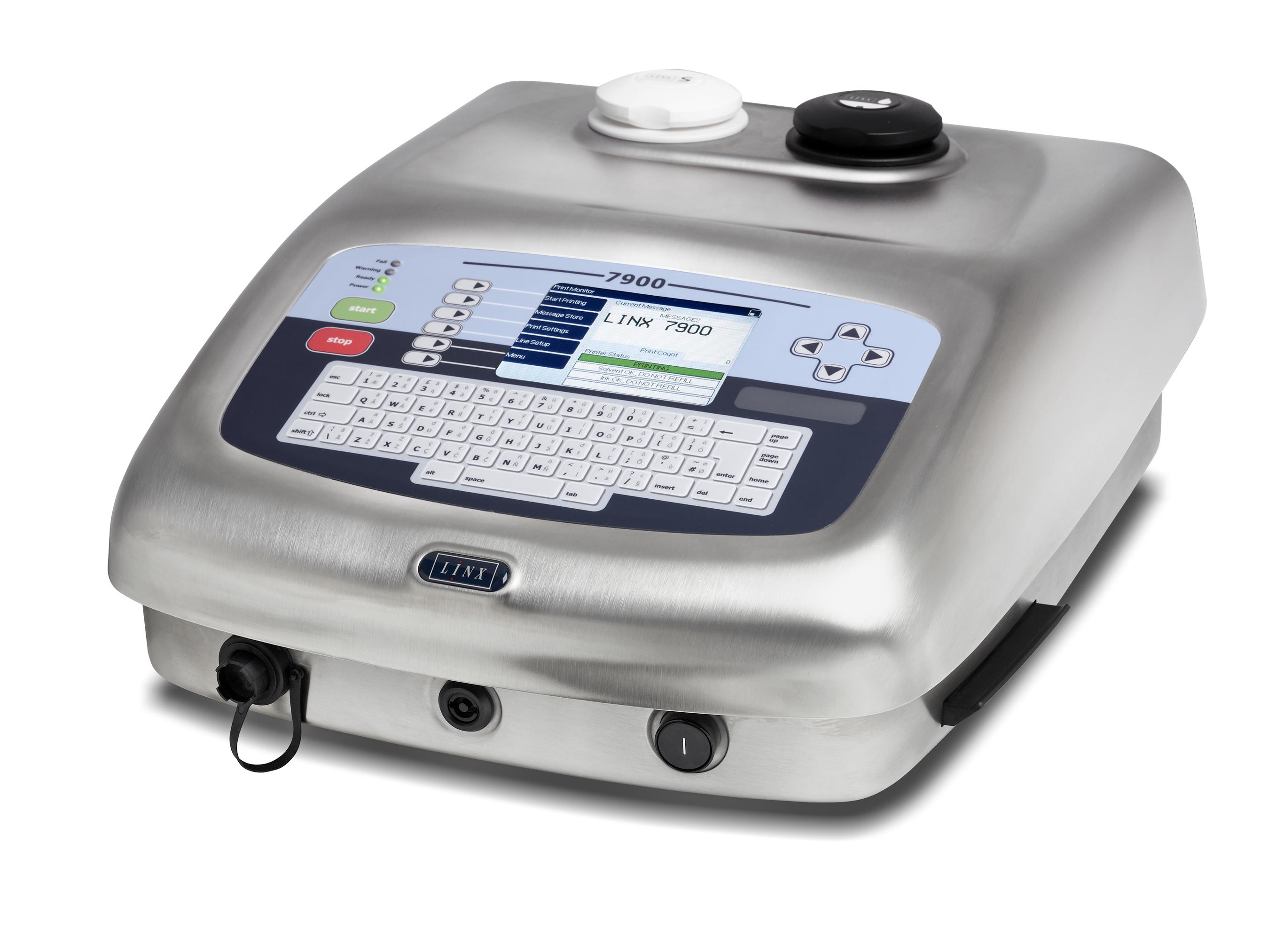 Impresora de inyección de tinta: LINX7900