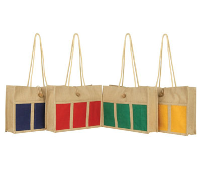 jute bags wholesale Grocery bag manufacturer