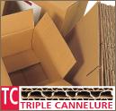 Caisse américaine triple cannelure
