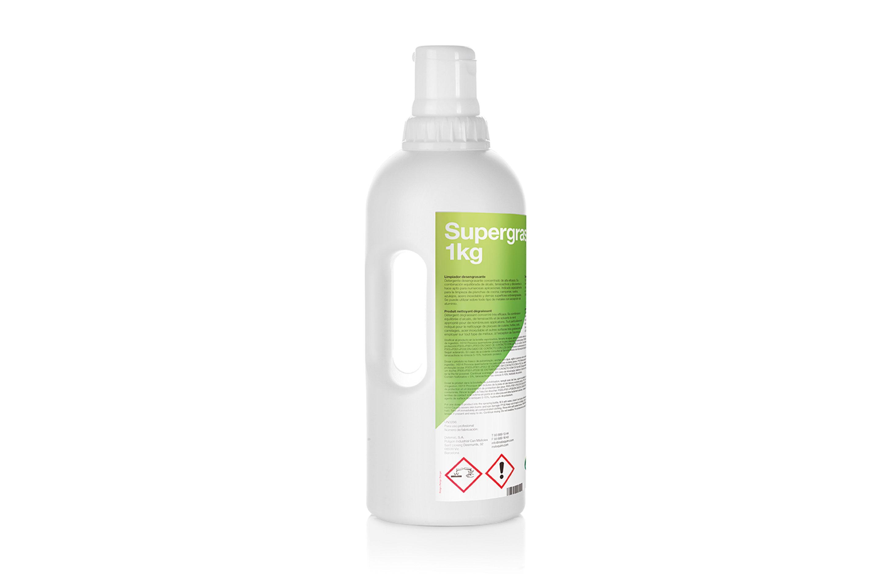Supergrass, limpiador desengrasante - Autodosis.