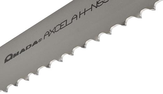 Amada Axcela G carbide tipped bandsaw blade