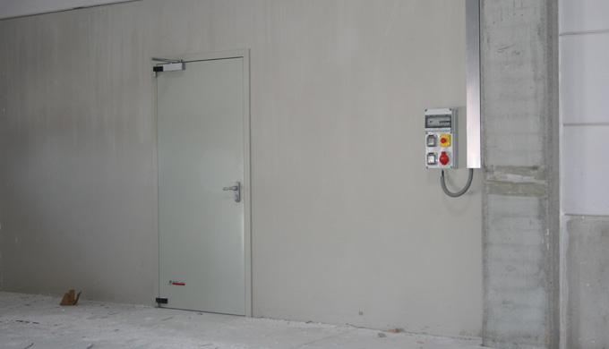 Blocs-portes métallique coupe feu EI30 - EI60 - EI120