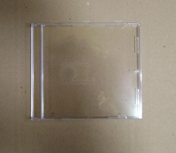 BOÎTIER CRISTAL VIDE 1 CD