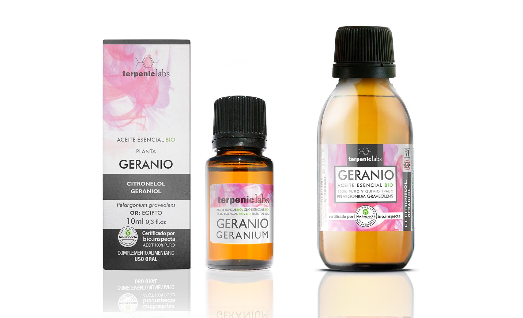 Geranio - Terpenic Labs