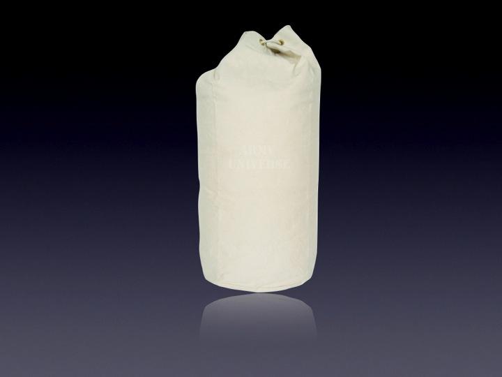 Organic Cotton Navy Drawstring Bag