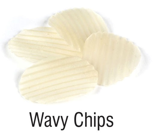 Potato Bassed 2D Papad ( Snacks Pellets)