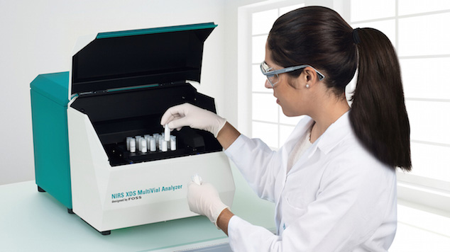 NIR-Spektroskopie Labor Analyzer