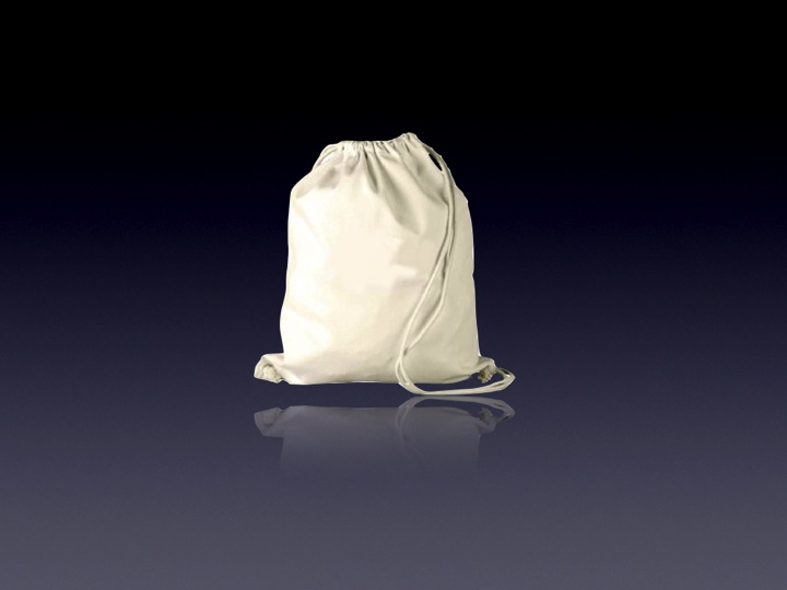 Recycled Cotton Drawstring Pouch