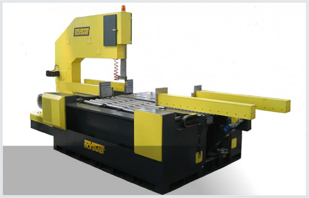 Soitaab SVT vertical cross-cutting bandsaw machine
