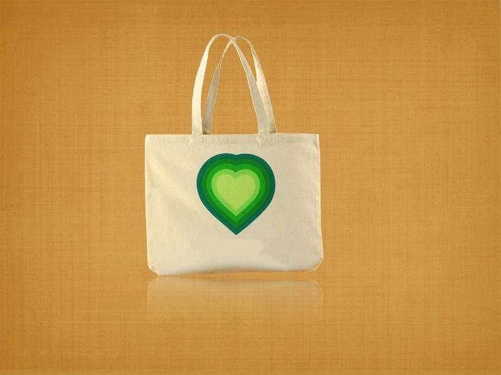 Organic Canvas Trade Show Bag