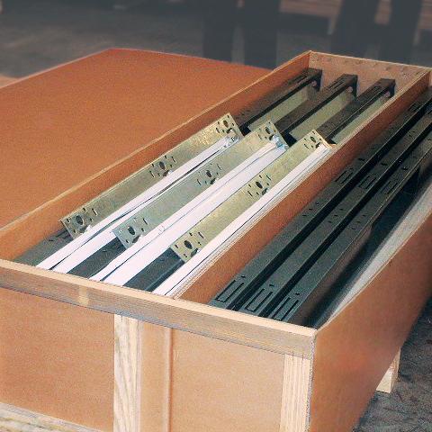 Embalaje mixto cartón - madera