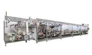 Technische Daten:Leistung: bis zu 1.200 Produkte/Min. (mehrbahnig, einbahnige Lösungen verfügbar) Bahngeschwindigkeit: b