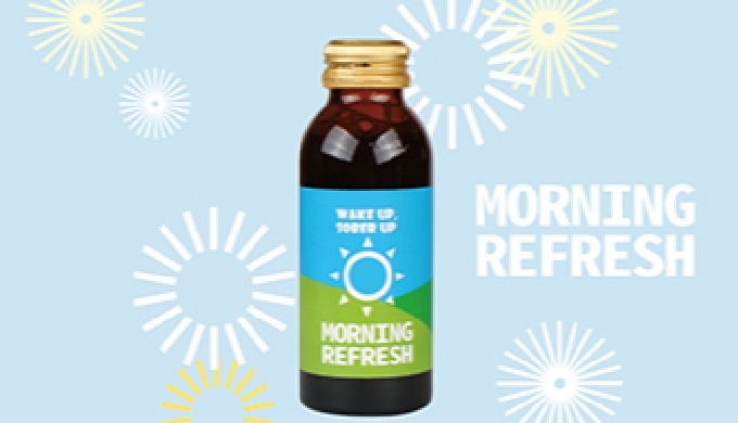 Morning refersh (hangover relief after drinking) | help drink