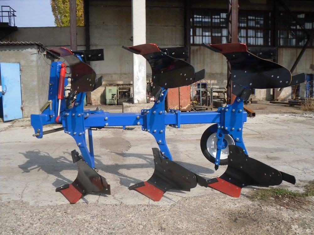 Plugurile reversibile de tip PR(PO) sunt destinate aratului solului la o adâncime de până la 30 cm.  Seria PR(PO) î