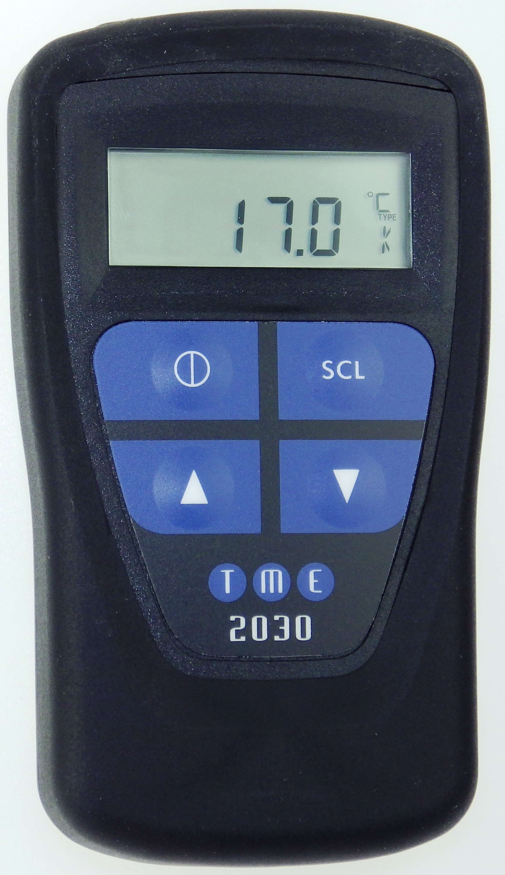 This Waterproof, Self-Calibrating Thermometer/Simulator can simulate the thermocouple output, and has a Milli-Volt measu