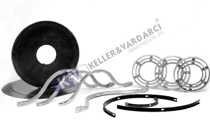Our partner, KEK offers the whole range of spare parts and accessories, such as Gin Saws, Gin Ribs, Aluminium Ribs and R