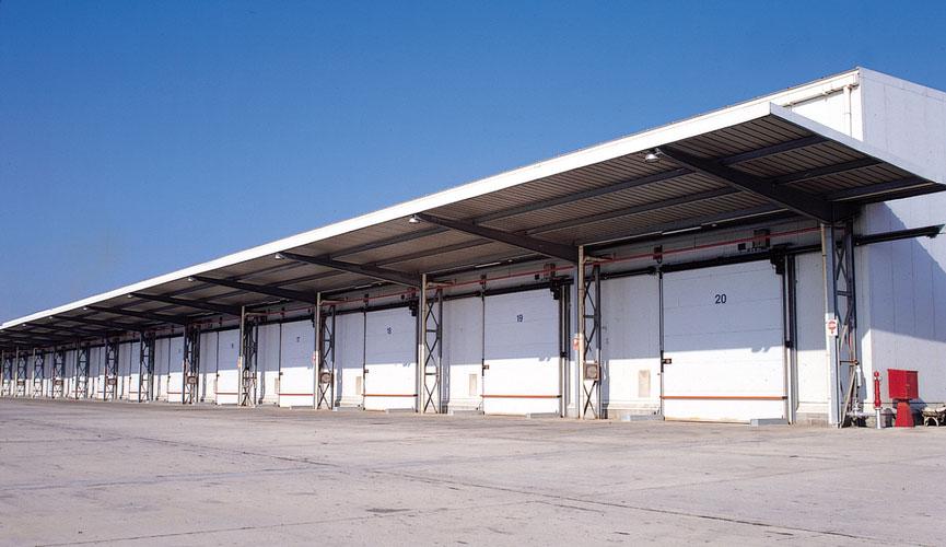 Puertas frigoríficas correderas de grandes dimensiones (M2P / M3P)